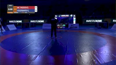 79 lbs David Vincent MCFADDEN, USA vs Galymzhan USSERBAYEV, KAZ