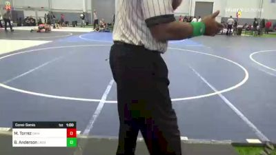 85 lbs Consolation - Maximus Torrez, Daniel Cormier vs Bryler Anderson, Lagrande Mat Club