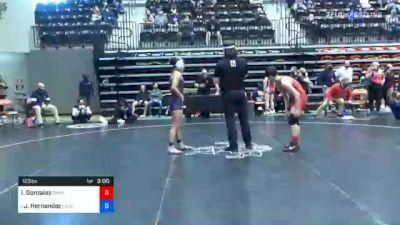 123 lbs Quarterfinal - Isabella Gonzalez, Grand View vs Jasmine Hernandez, Lyon
