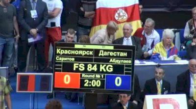 84 lbs quarter-finals Albert Saritov vs. Habib Abdulaev