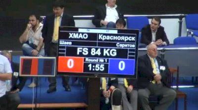84 lbs round2 Hayrdin Shaev vs. Albert Saritov