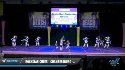 Rockstar Cheer - Chambersburg - Gym Class Heroes [2021 L4 International Open Coed Day 2] 2021 ACDA: Reach The Beach Nationals