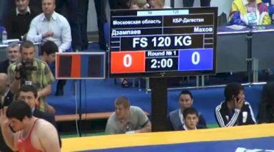 120 lbs finals Bilal Makhov vs. Alan Dzampaev