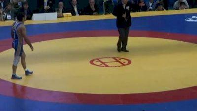 84 lbs finals Albert Saritov vs. Anzor Urishev