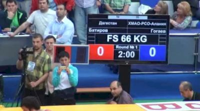 66 lbs finals Adam Batirov vs. Alan Gogaev