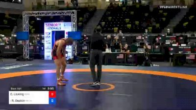 74 kg Prelims - Caleb Licking, Nebraska Wrestling Training Center vs Ryan Deakin, TMWC / Wildcat Wrestling Club