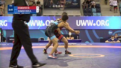 45 kg 1/4 Final - Nikita Dementiev, Ukraine vs Ali Abdollah Ahmadivafa, Iran