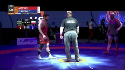 97kg Bronze - Islam Abbasov, AZE vs Gerard Kurniczak, POL