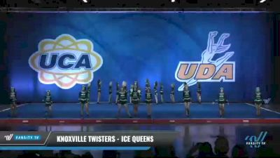 Knoxville Twisters - Ice Queens [2020 L5 Junior Day 2] 2020 UCA Smoky Mountain Championship