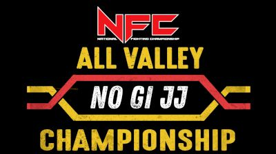Full Replay - NFC - All Valley No-Gi BJJ Championships - Mat 2 - Oct 17, 2020 at 3:56 PM EDT