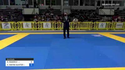 ROBERTO RAMIREZ vs KENNY WAYNE GUNTER 2021 Pan IBJJF Jiu-Jitsu No-Gi Championship