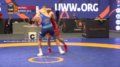 82 kg 3rd Place - Iwan Nylypiuk, POL vs Alex Bjurberg Kessidis, SWE