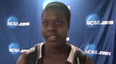 Jeneva McCall Southern Illinois 1st Hammer Throw 2012 NCAA Outdoor Champs
