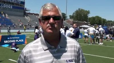 Dennis Shaver LSU coach after women's team title at 2012 NCAA Outdoor Champs