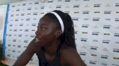 Kali Davis White 1145 PR adidas Dream 100:Mile