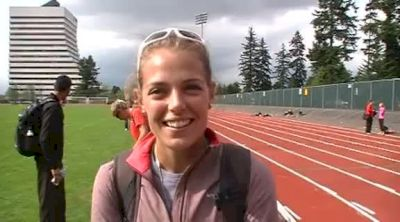 Melissa Bishop talks about little things to be tweaked upcoming weeks at 2012 Harry Jerome Classic