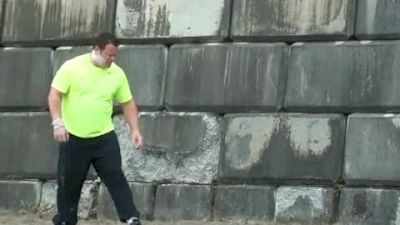 Dylan Armstrong - Shot Put Highlights - 2012 Harry Jerome Classic