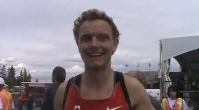 Grade 11 sensation Tyler Smith ready for some rest after another break through 2012 Donovan Bailey Invitational