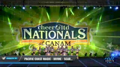 Pacific Coast Magic - Irvine - Scarlet [2021 L3 Senior - Small Day 2] 2021 Cheer Ltd Nationals at CANAM
