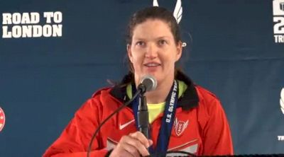 Stephanie Brown-Trafton 1st place Discus at 2012 Olympic Trials