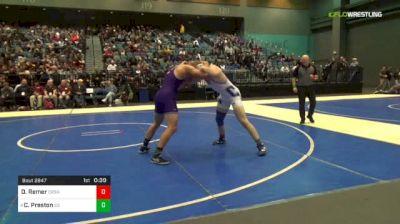 195 lbs 3rd Place - David Remer, Carson vs Colby Preston, Spanish Springs