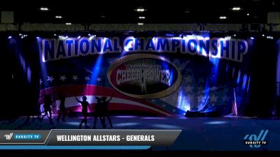 Wellington Allstars - Generals [2021 L1 Junior - D2 Day 1] 2021 ACP: Tournament of Champions