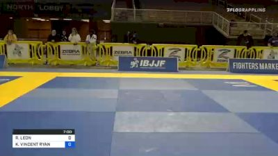 RAMIRO LEON vs KEVI VINCENT RYAN 2020 IBJJF Orlando International Open Jiu-Jitsu Championship