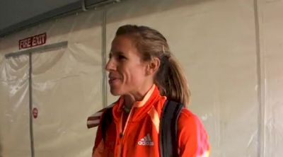 Morgan Uceny asked if she's racing with chip on her shoulder at 2012 US Olympic Trials