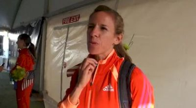 Morgan Uceny on the necklace, training and hometown at 2012 US Olympic Trials