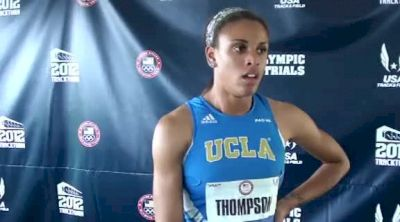 Turqoise Thompson 6th in Trials Final 2012 Eugene Olympic Team Triasl