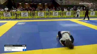Dylan Kirk Reeves vs Justin Patrick 2021 Pan Kids Jiu-Jitsu IBJJF Championship