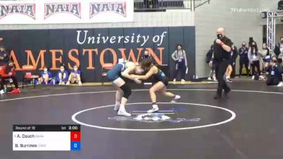 101 lbs Prelims - Alaura Couch, Grand View vs Brooke Burrows, Corban