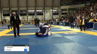 LEONARDO SAGGIORO vs GILSON NUNES 2018 World IBJJF Jiu-Jitsu Championship