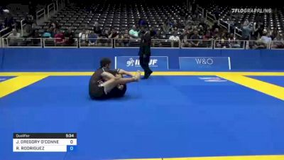 JONATHAN GREGORY O'CONNELL vs RICHARD RODRIGUEZ 2021 World IBJJF Jiu-Jitsu No-Gi Championship