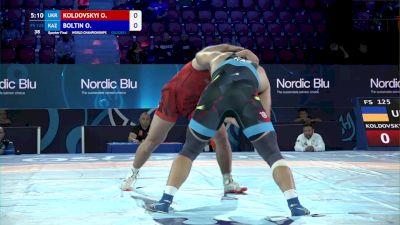 125 kg Quarterfinal - Oleksandr Koldovskyi, Ukraine vs Oleg Boltin, Kazakhstan