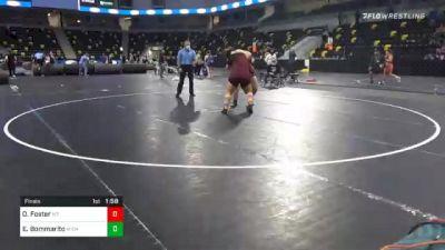 225 lbs Final - Omastewin Foster, Montana Girls vs Eliana Bommarito, Michigan Revolution
