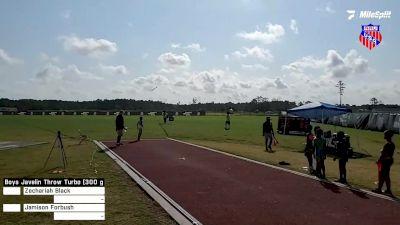 Replay: Javelin Throw - 2021 AAU Junior Olympic Games | Aug 7 @ 8 AM