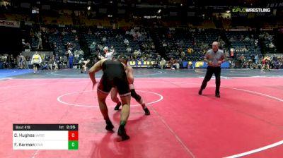 174 lbs Consi Of 16 #2 - Cody Hughes, Virginia Tech vs Foster Karmon, Stanford