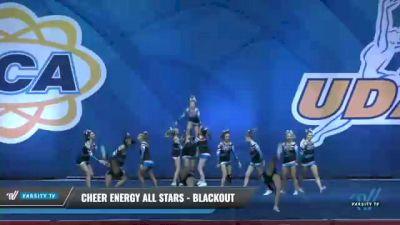 Cheer Energy All Stars - Blackout [2020 L4 Senior - Small - D2 Day 2] 2020 UCA Smoky Mountain Championship