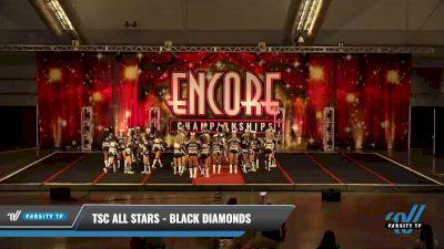 TSC All Stars - Black Diamonds [2021 L5 Senior - D2 Day 2] 2021 Encore Championships: Pittsburgh Area DI & DII