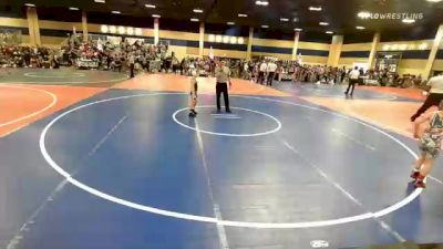 65 lbs Round Of 16 - Samantha Jordan, Nevada Elite WC vs Paxton Bylin, Team Aggression