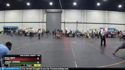 185 lbs 3rd Place Match - Josiah Jenkins, Florida vs Kyle Grey, Florida