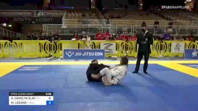 KEANNA CAROLYN KLAY vs LAUREN HANAKO SOGNEFEST 2021 Pan Jiu-Jitsu IBJJF Championship