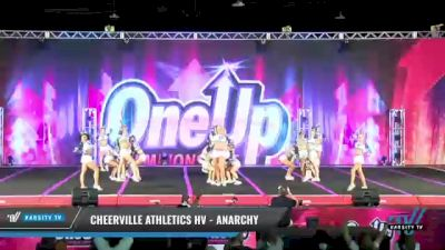 CheerVille Athletics HV - Anarchy [2021 L6 Senior Coed Open - Small Day 1] 2021 One Up National Championship