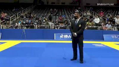 KANAN R. CLARKE-JONES vs BENJAMIN KUNZLE 2021 World IBJJF Jiu-Jitsu No-Gi Championship