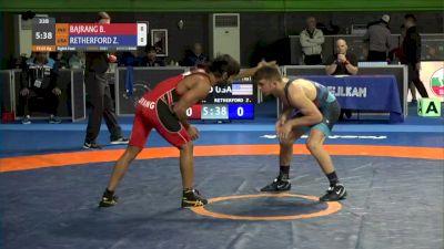 65 kg Prelims - Zain Retherford, USA vs Bajrang Punia, IND