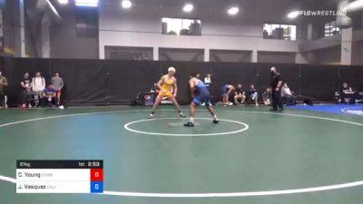 61 kg Quarterfinal - Carter Young, Cowboy Wrestling Club vs Jesse Vasquez, California