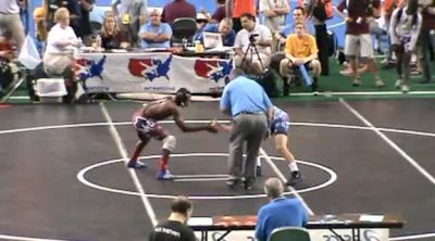 J 126 Connor Schram PA vs. Kevon Powell IL