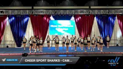 Cheer Sport Sharks - Cambridge - Caribbean Sharks [2020 L4 Senior - Medium Day 2] 2020 The American Majestic DI & DII