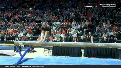 Sabrina Gill - Beam, Oregon State - 2019 NCAA Gymnastics Regional Championships - Oregon State